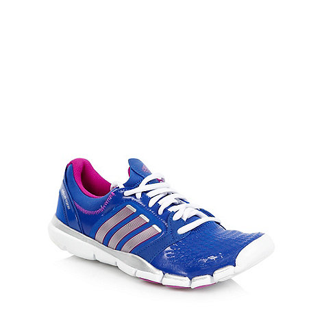 adidas - Royal blue +Adipure 360+ trainers