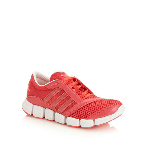 adidas - Dark pink +Chill+ trainers
