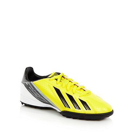 adidas - Boy+s yellow +F10 TRX+ football trainers