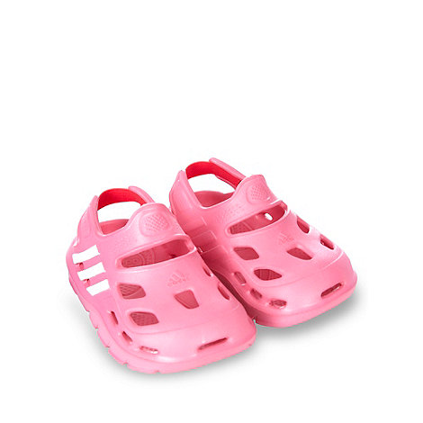 adidas - Girl+s pink +Varisol+ clogs