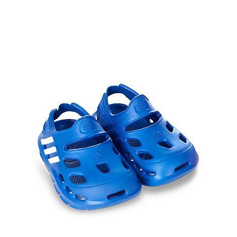 adidas - Boy+s blue +Varisol+ clogs