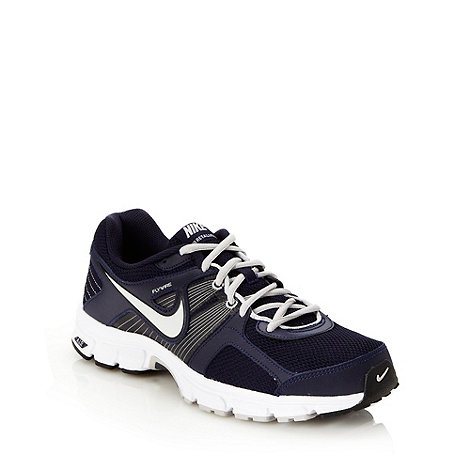 Nike - Navy +Air Retaliate 2+ trainers