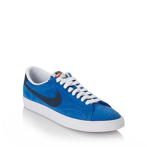Nike - Blue +Tennis Classic+ trainers