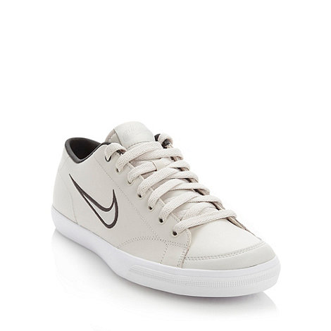 Nike - Cream leather trainers