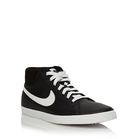 Nike - Black +Eastham+ high top trainers