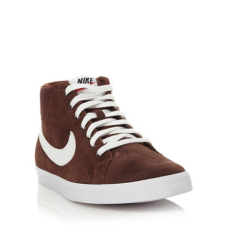 Nike - Brown +Eastham+ high top trainers
