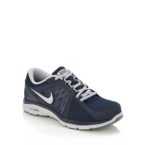 Nike - Navy +Dual Fusion Run+ trainers