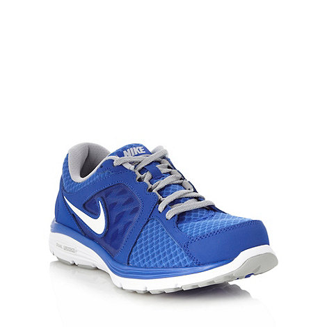 Nike - Blue +Dual Fusion Breathe+ trainers