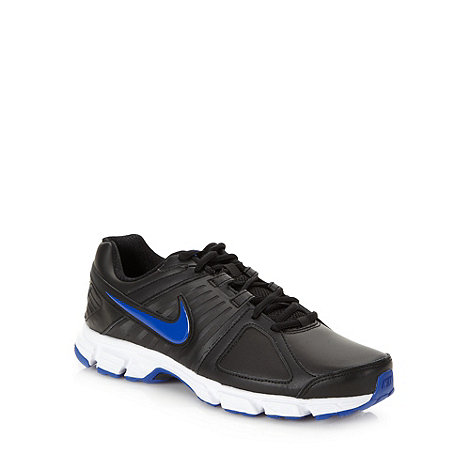 Nike - Black +Downshifter 5+ trainers