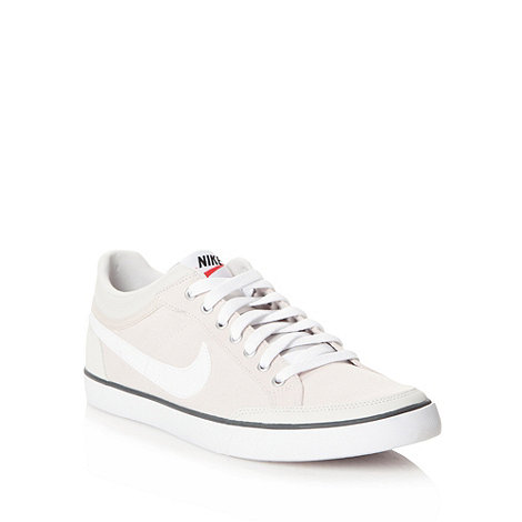 Nike - Cream +Capri III+ canvas trainers
