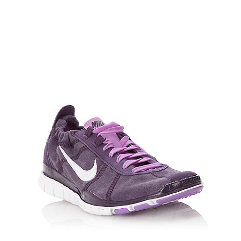 Nike - Purple +Free Twist+ trainers