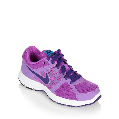 Nike - Purple mesh trainers