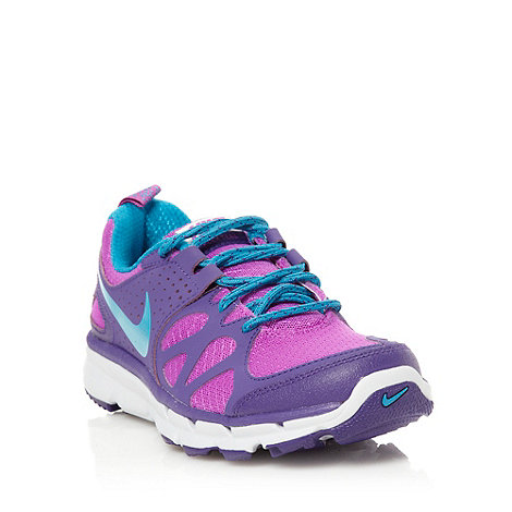 Nike - Purple +Flex Trail+ trainers
