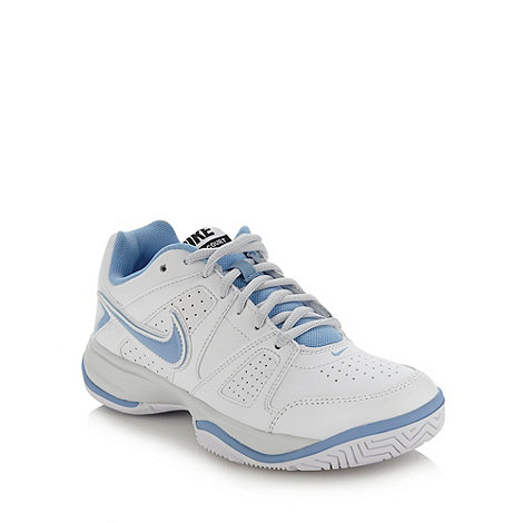 Nike - Light blue +City Court+ trainers