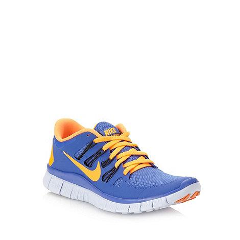 Nike - Blue +Free 5+ trainers