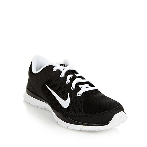 Nike - Black +Flex+ trainers
