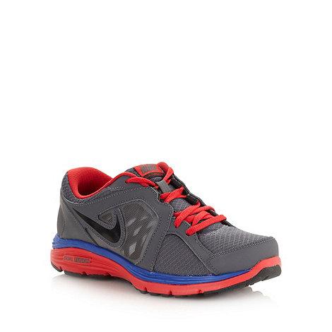Nike - Boy+s grey +Fusion Run+ trainers