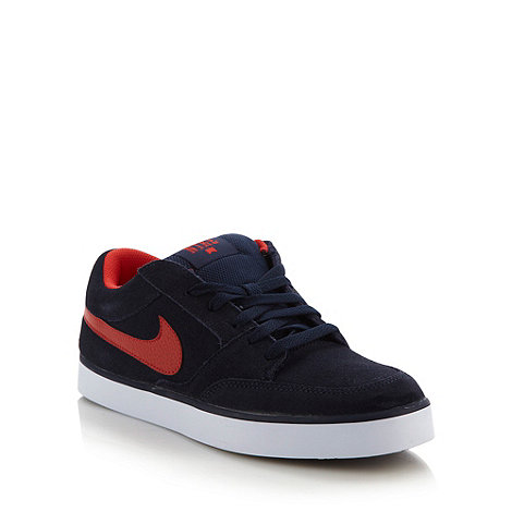 Nike - Navy +Avid+ trainers