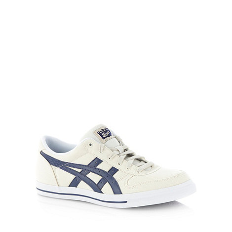 Onitsuka Tiger - White canvas 'Aaron' basketball trainers