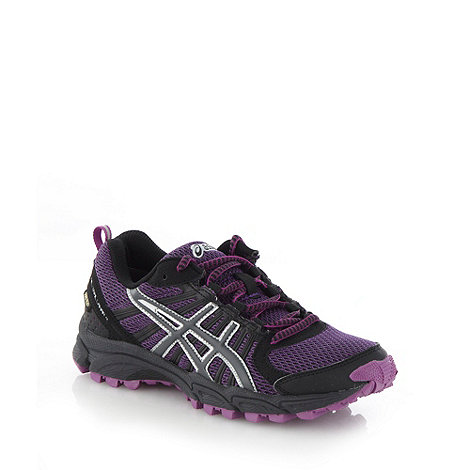 ASICS - Purple +Gel Lahar 4+ trainers