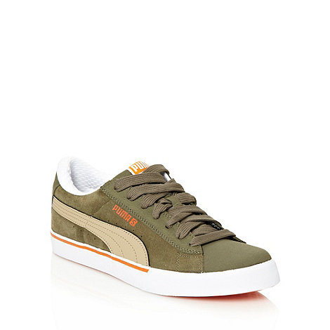 Puma - Dark olive +Low City+ trainers