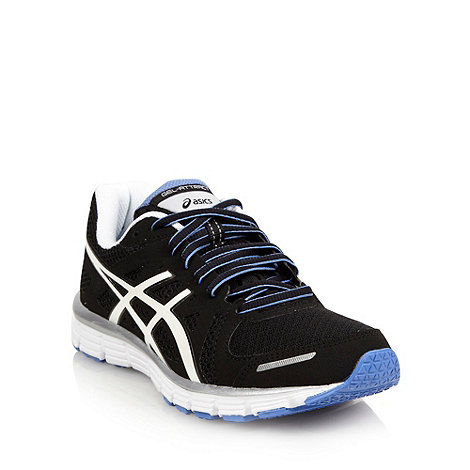 ASICS - Black +Gel Attract+ trainers