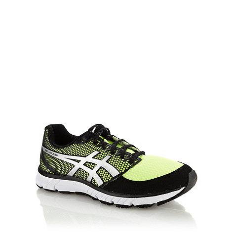 ASICS - Yellow +Gel Volt 33+ trainers