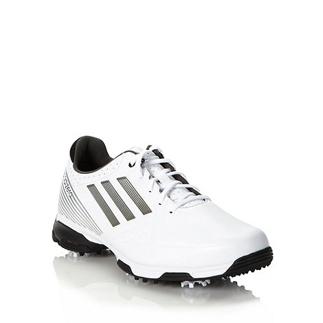 adidas - Adizero 6-spike' white golf trainers