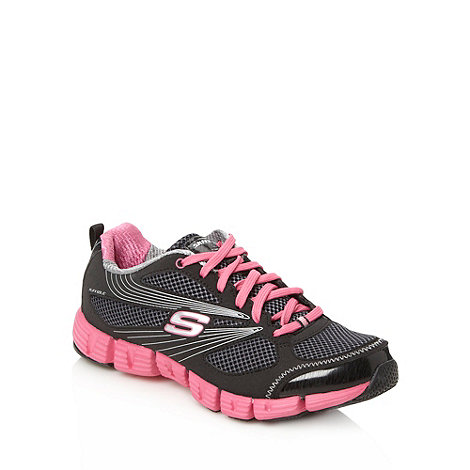 Skechers - Black +Stride+ trainers