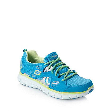Skechers - Blue +Synergy+ trainers