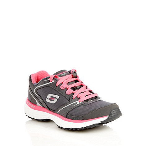 Skechers - Grey +Agility+ trainers