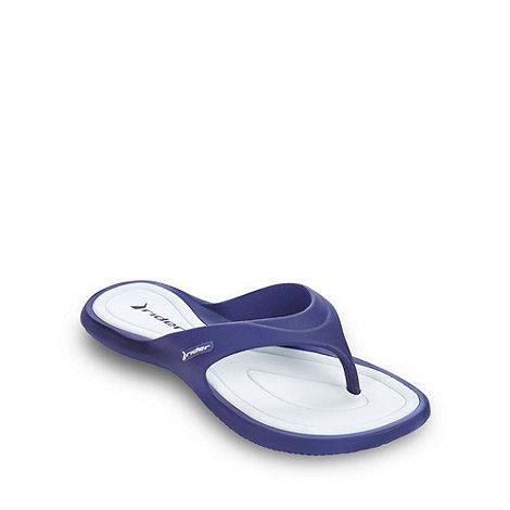 Rider - Purple toe post flip flops