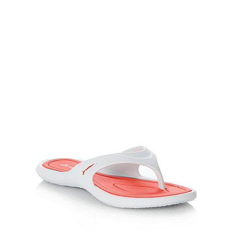 Rider - White and pink flip flops