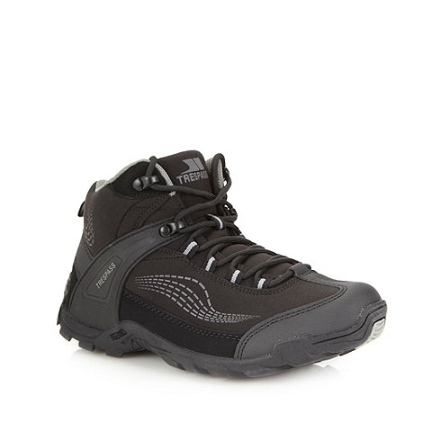 Trespass - Black 'Softshell' walking boots