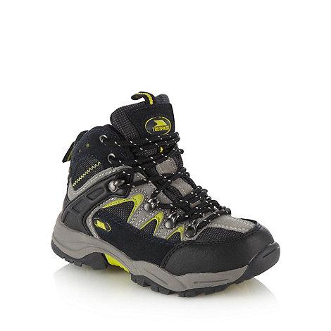 Trespass - Boys+ dark grey hiking boots