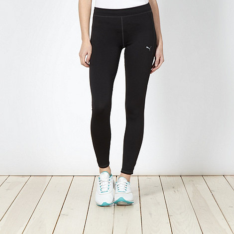 Puma - Black full length fitness leggings