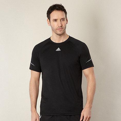adidas - Black mesh running top