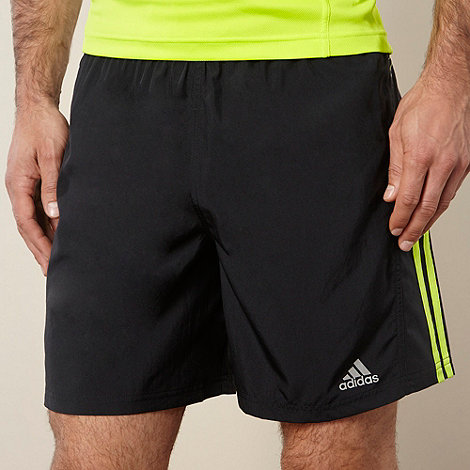 adidas - Black +Response+ running shorts