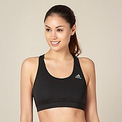 adidas - Black racer back sports bra
