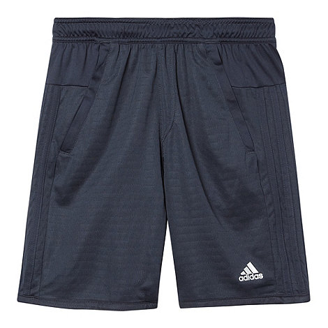 adidas - Boy's blue 'Clima chill' shorts