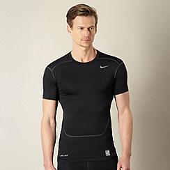 Nike - Black 'compression' top