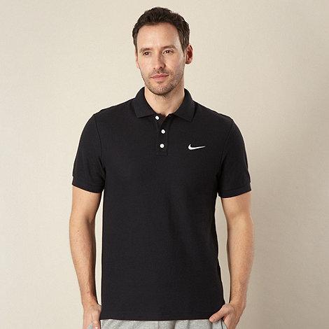 Nike - Black +Matchup+ pique polo shirt