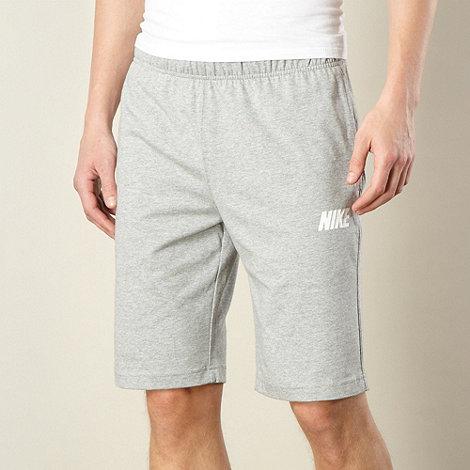 Nike - Grey jersey shorts