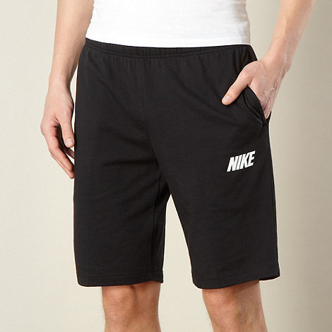 Nike - Black jersey shorts