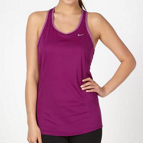 Nike - Purple racer back vest