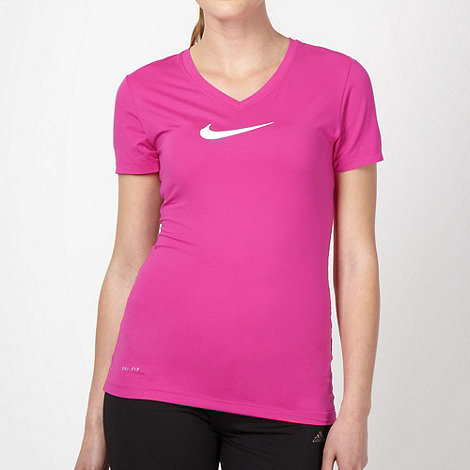 Nike - Pink +Sculpt+ fitness t-shirt