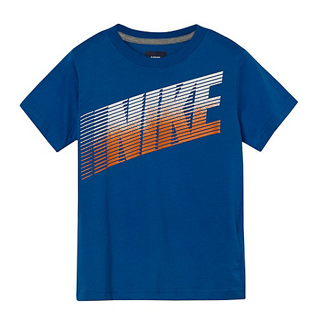 Nike - Boy+s blue +Dash+ t-shirt