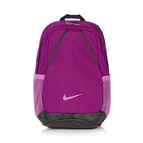 Nike - Purple canvas backpack