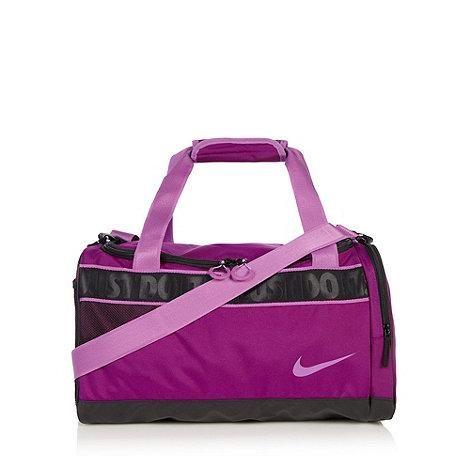 Nike - Purple canvas gym bag