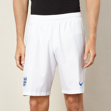 Nike - White away stadium shorts